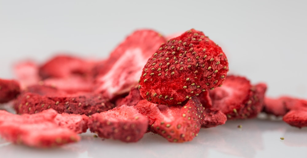Image of freeze dried strawberries