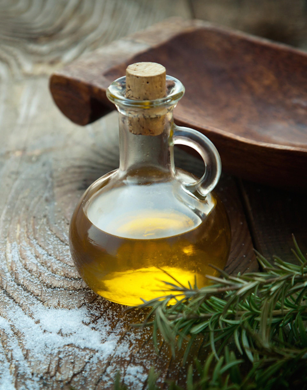 Image of a bottle of olive oil