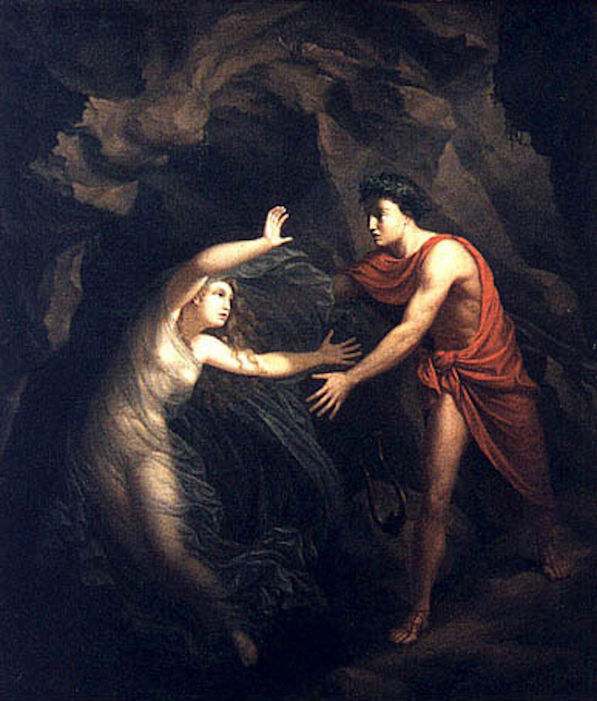 Picture of Christian Gottlieb Kratzenstein Orpheus and Eurydice