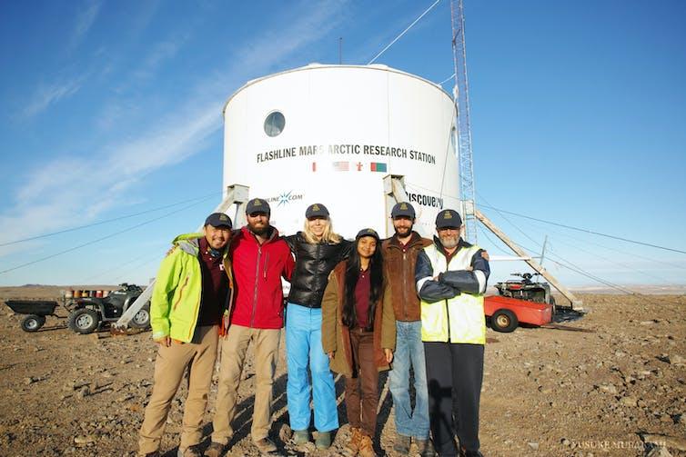 dear diary: the sun never set on the arctic mars simulation