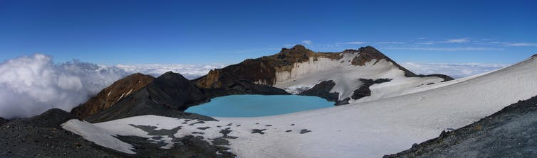 ambae volcano's crater lakes make it a serious threat to vanuatu