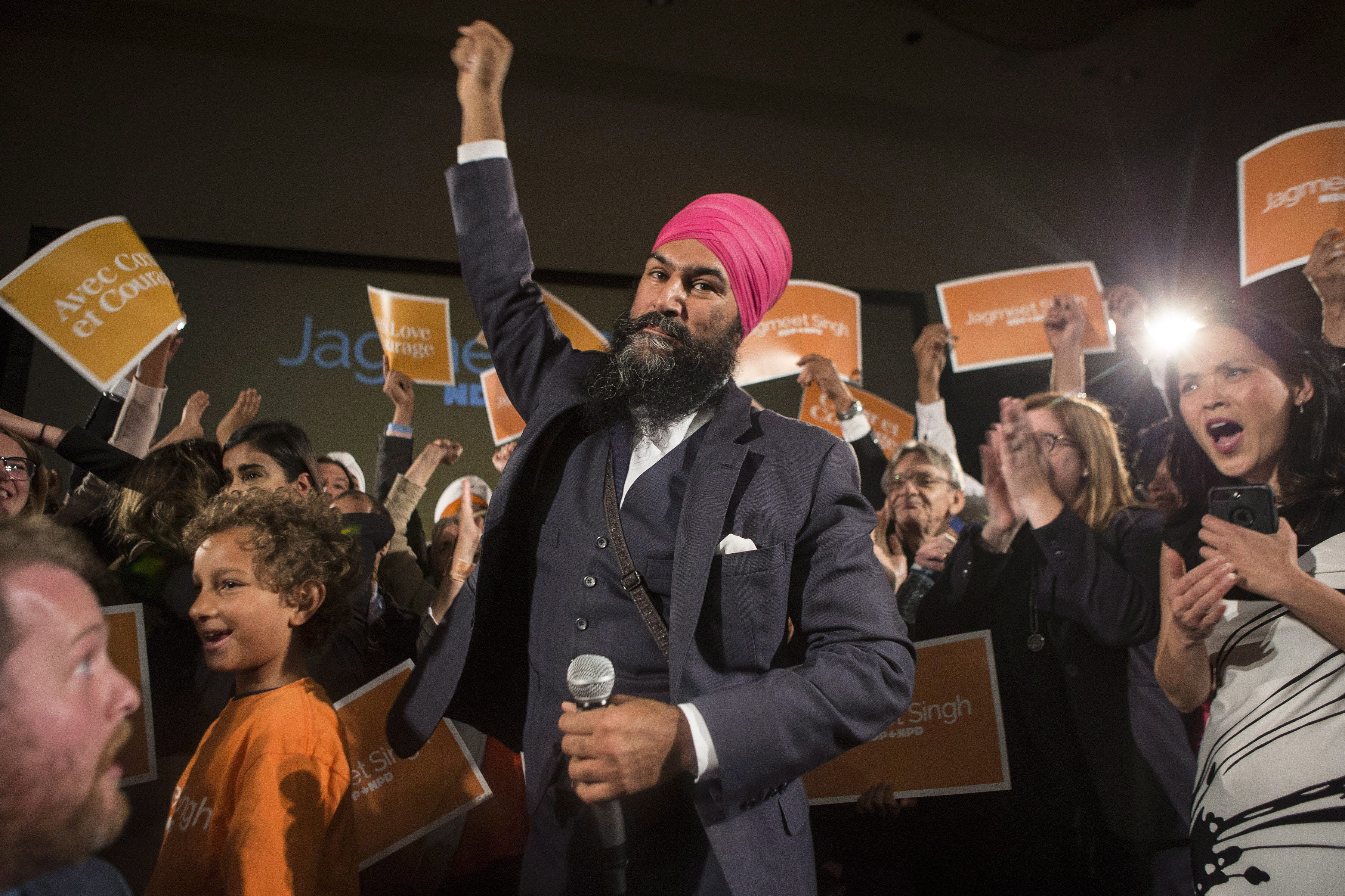 WSO (Canada) Congratulate Jagmeet Singh on Historic NDP Leadership Victory