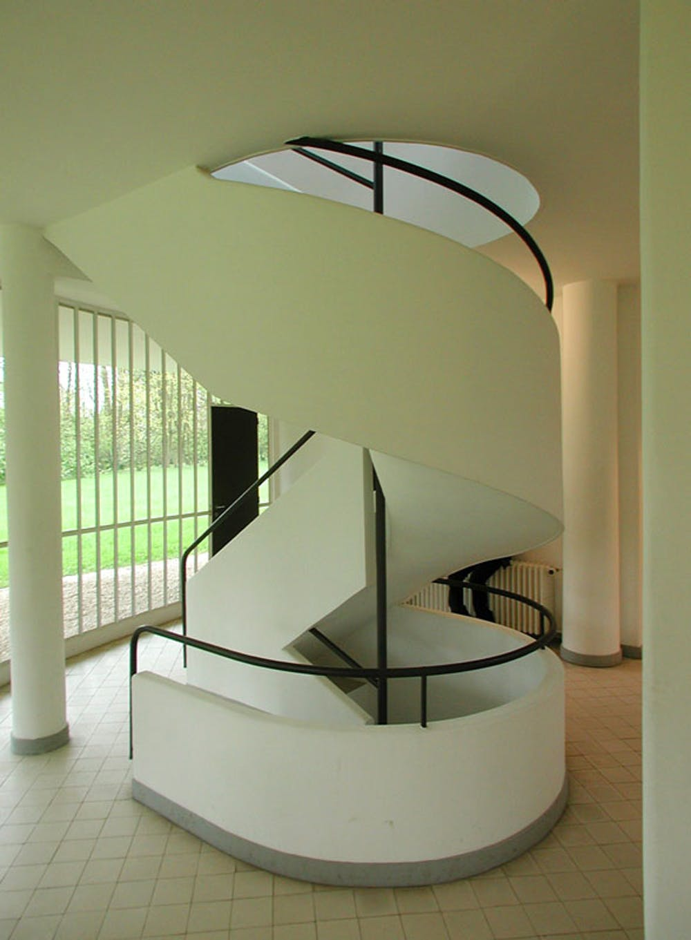 Le corbusier villa savoye interior - Villa Savoye Waywuwei